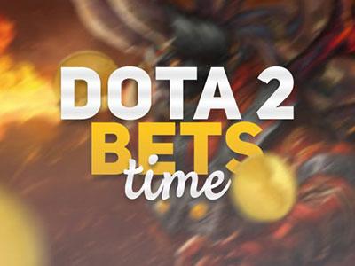 Bets on Dota 2